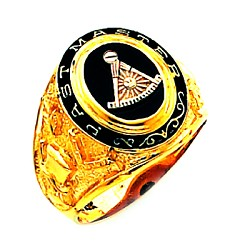 Past Master Masonic Ring - HOM548PM