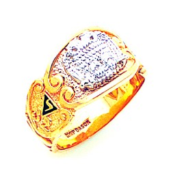 Scottish Rite Masonic Ring - GLC792002SR
