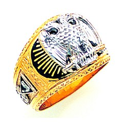 Scottish Rite Masonic Ring - MAS1792SR
