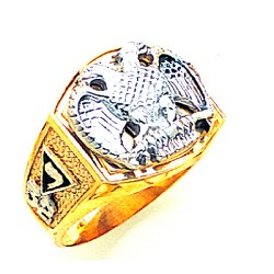 Scottish Rite Masonic Ring - MAS1929SR