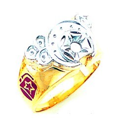Shriner Masonic Ring - GLC392SH