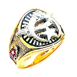 Shriner Masonic Ring - MAS1185SH