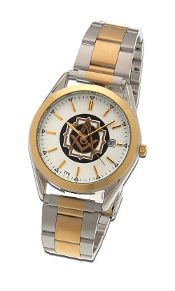 Bulova Square & Compass Two-Tone Fold Over Watch MSW101BTT