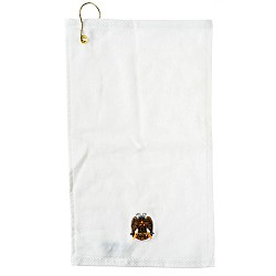 32nd Degree Embroidered Masonic Golf Towel