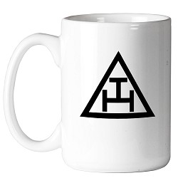 Royal Arch Triangle Masonic Coffee Mug - [11 oz.]