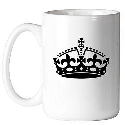 York Rite Crown Masonic Coffee Mug - [11 oz.]