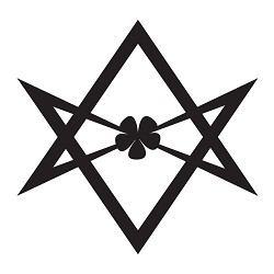 Hexagram Vinyl Decal