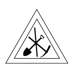 Royal Arch Working Tools Masonic Vinyl Decal