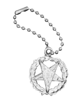 Order of the Eastern Star Key Chain RES-28