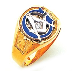 Blue Lodge Ring GLC304BL