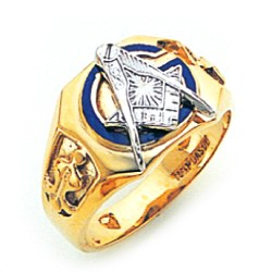 Blue Lodge Ring GLC561BL