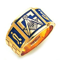 Blue Lodge Ring GLC792001BL