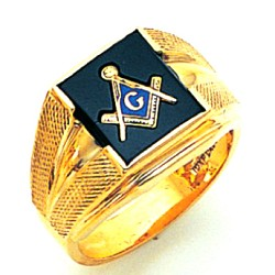 Blue Lodge Ring GLCS1167BL
