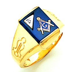 Blue Lodge Ring GLCS792011BL