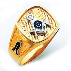 Blue Lodge Ring HOM511BL