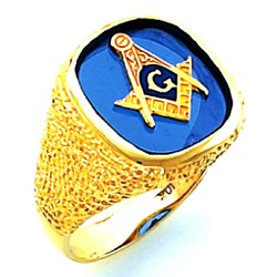 Blue Lodge Ring HOM632BL