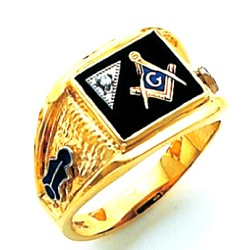 Blue Lodge Ring HOM703BL