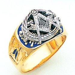 Blue Lodge Ring MAS1092BL
