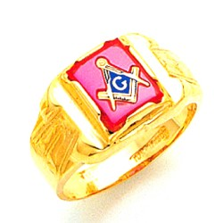 Blue Lodge Ring MAS1301BL
