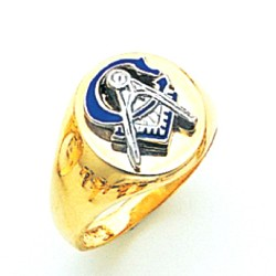 Blue Lodge Ring MAS1829BL