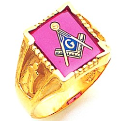 Blue Lodge Ring MAS60451BL