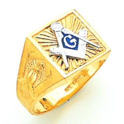 Blue Lodge Ring MAS61352BL
