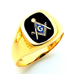 Blue Lodge Ring MAS60335BL