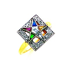Order of the Eastern Star Ring GLC242ES