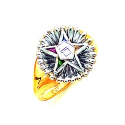 Order of the Eastern Star Ring GLC290ES