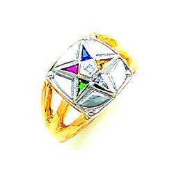 Order of the Eastern Star Ring GLC293ES