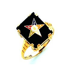 Order of the Eastern Star Ring HOM244ES