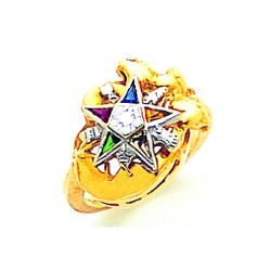 Order of the Eastern Star Ring MAS2081ES