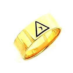 Gold Plated Lodge of Perfection Ring MASCJ2299