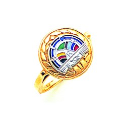 Rainbow Girls Ring GLC266
