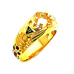 Scottish Rite Ring MAS1538SR